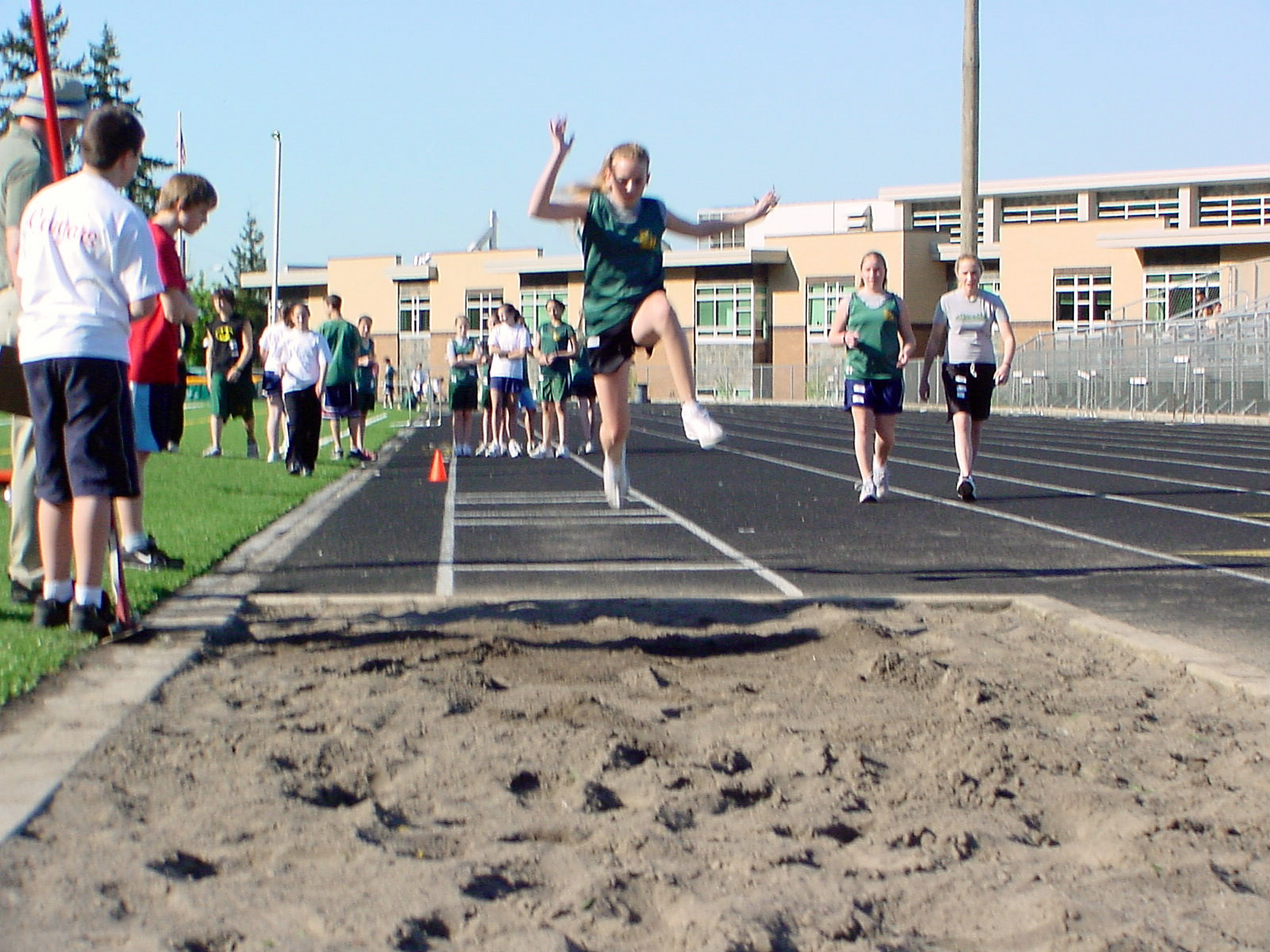 MS Track Meet Long Jump