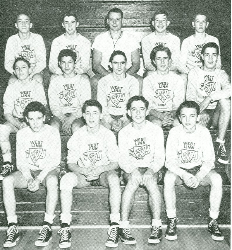 1950 freshman basketball