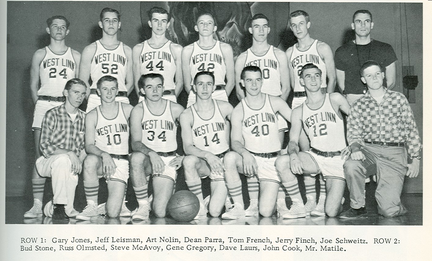 1959 varsity basketball team