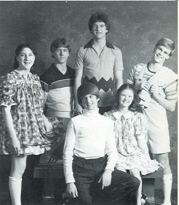 1979 Winter Play actors