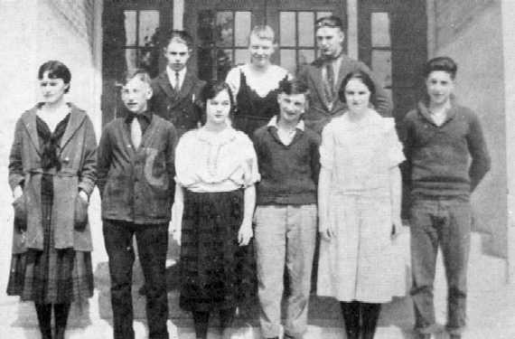 1922 Junior Play Cast