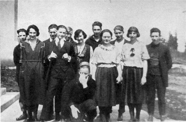1932 Senior Class Play Cast