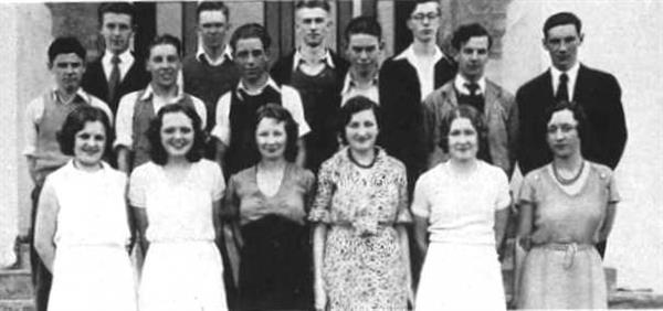 1932 Student Body Play Cast