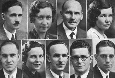 1934 faculty 2nd group