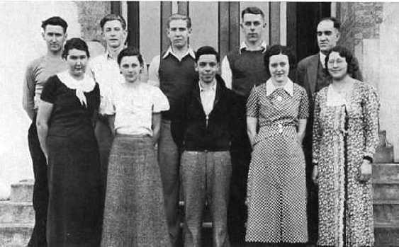 1934 girls league boys club