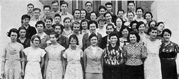 1934 Honor Society