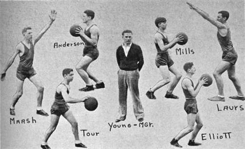 1934 Boys Basketball team