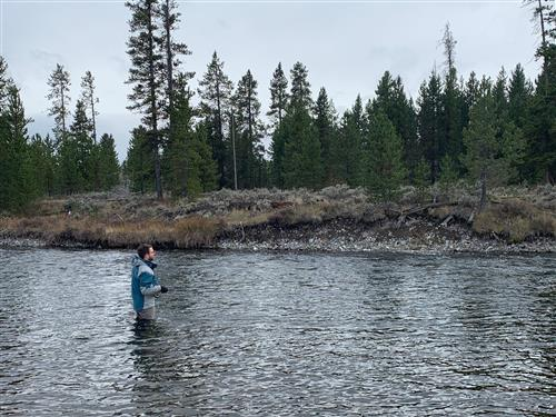 Probably not catching fish in my favorite place in the country, West Yellowstone