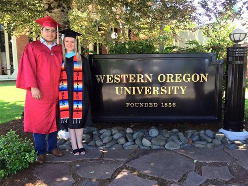 Sra. R graduates from WOU