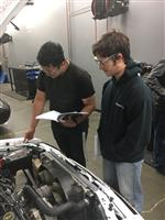 Students in Auto Shop 2