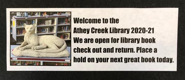 Athey Creek Library 2020-21