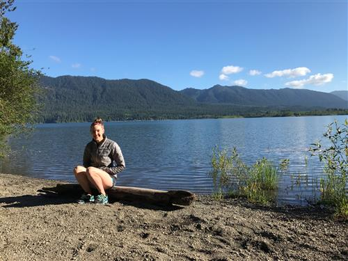 Backpacking at Lake Quinault
