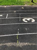 Wood Middle School will have its track resurfaced this summer.