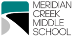 Meridian Creek Middle School Logo.