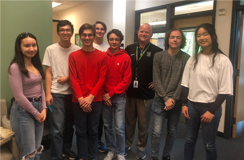 Seven West Linn High School students were recently named National Merit Scholarship semifinalists.
