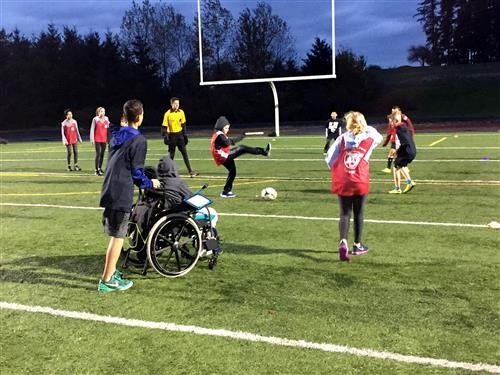Unified Soccer teams from all four WLWV middle schools took part in a jamboree on Wednesday, Nov. 8 at Rosemont Ridge.