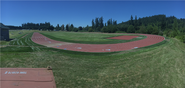 The Athey Creek Middle School Track was resurfaced this summer.