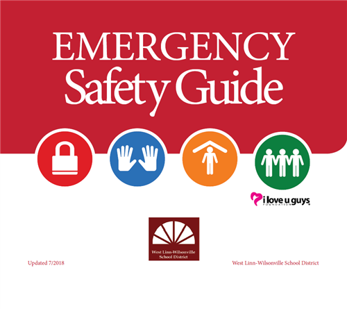 The Emergency Safety Guide provides instruction for staff and students.