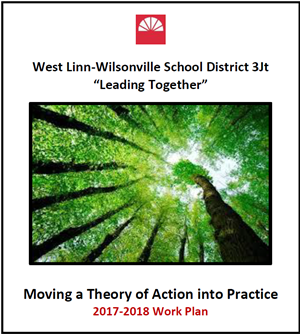 "West Linn-Wilsonville School District 3Jt, ""Leading Together."" Moving a Theory of Action into Practice: 2017-18 Work Plan."